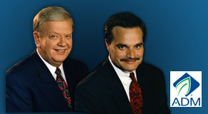 Orion Samuelson and Max Armstrong, WGN Agri-Cast