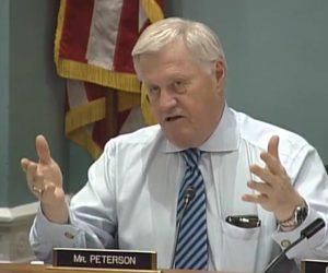 Collin Peterson, (D-MN) Ranking Member, US House Committee on Agriculture